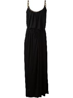 draped sleeveless gown by LANVIN in The Wolf of Wall Street