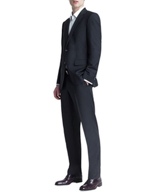 Basic Two-Button Suit by Boss Hugo Boss in Mike and Dave Need Wedding Dates