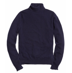 Cashmere Turtleneck Sweater by Brooks Brothers in House of Cards