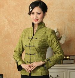 Women's Chinese Tang Suit by Ali Express in Couple's Retreat