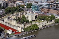 London, United Kingdom by Tower of London in Survivor
