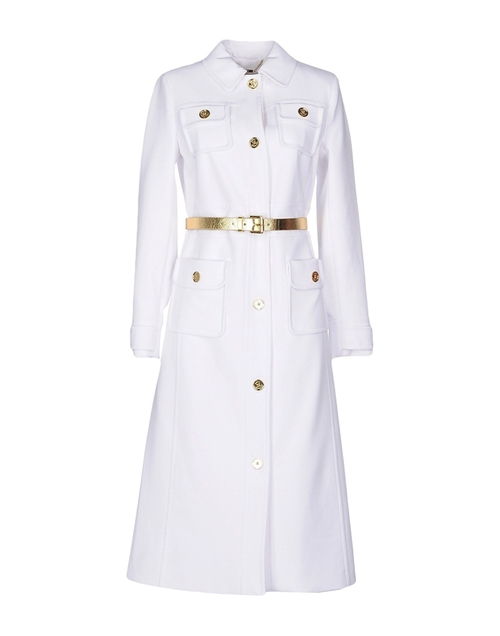 Trench Coat by Michael Michael Kors in Keeping Up With The Kardashians - Season 11 Episode 2