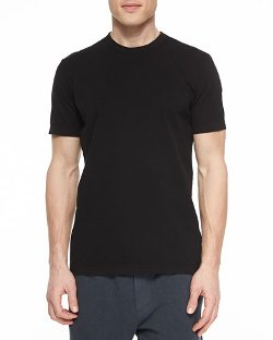 Crew-Neck Jersey T-Shirt by James Perse in Entourage