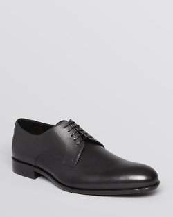 Leather Lace-Up Oxford Shoes by Boss Hugo Boss in While We're Young