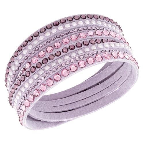 Slake Pink Deluxe Bracelet by Swarovski in Sisters