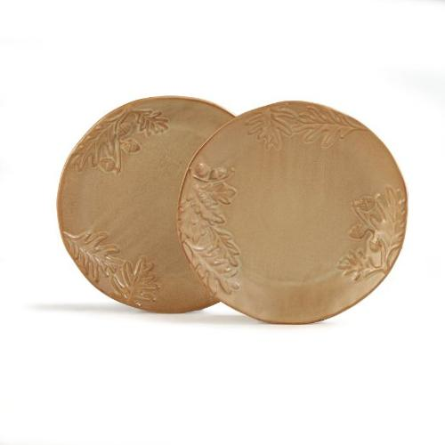 Biltmore Inspirations Collection Olmsted Oak Dinner Plates by Caffco International in The Hundred-Foot Journey