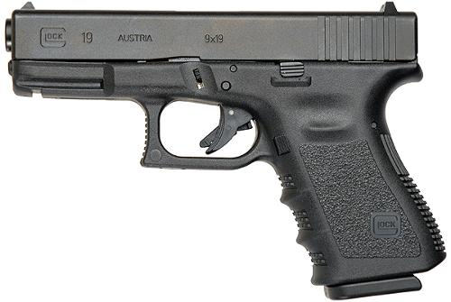 19 Pistol by Glock in Ride Along