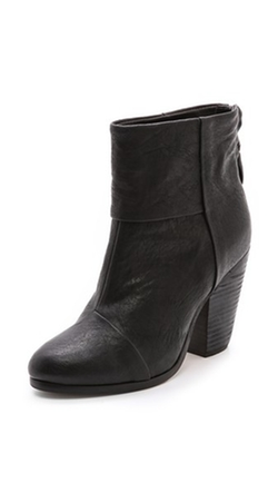 Classic Newbury Booties by Rag & Bone in Scream Queens