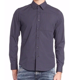 Rivo Check Sportshirt by G-Star RAW in Shadowhunters
