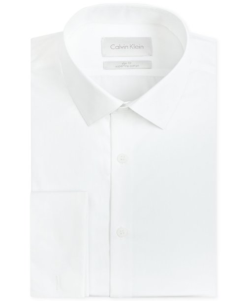 White French Cuff Dress Shirt by Calvin Klein in (500) Days of Summer