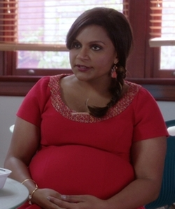 Custom  Maternity Dress by Salvador Pérez Jr (Costume Designer) in The Mindy Project