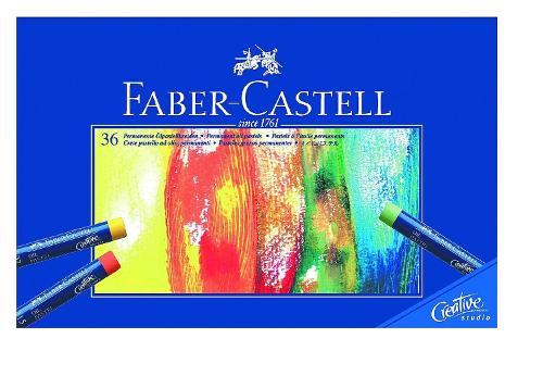 Creative Studio Oil Pastel Sticks by Faber-Castell in Yves Saint Laurent