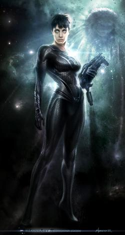 Custom Made Faora-Ul Kryptonian Suit by Michael Wilkinson (Costume Designer) in Man of Steel