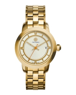 Stainless Steel Bracelet Watch by Tory Burch Watches in The Good Wife