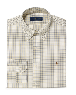 Checked Cotton Poplin Shirt by Polo Ralph Lauren in How To Get Away With Murder