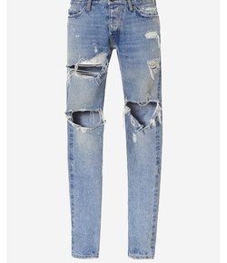 Selvedge Denim Vintage Jeans by Fear Of God in Keeping Up With The Kardashians
