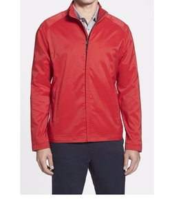'Blakely' WeatherTec Full Zip Jacket by Cutter & Buck in The Big Bang Theory