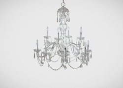 Michela Twelve Light Chandelier by Ethan Allen in The D Train