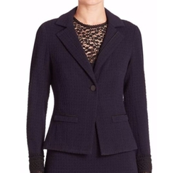 Leo Tweed Blazer by Nanette Lepore  in Quantico