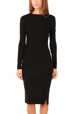Long Sleeve Ruched Dress by 10 Crosby by Derek Lam in Jessica Jones