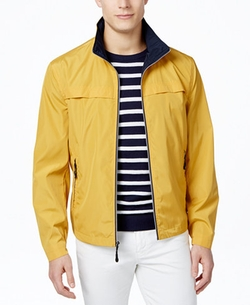 Men's Packable Stand-Collar Jacket by London Fog in Dirk Gently's Holistic Detective Agency