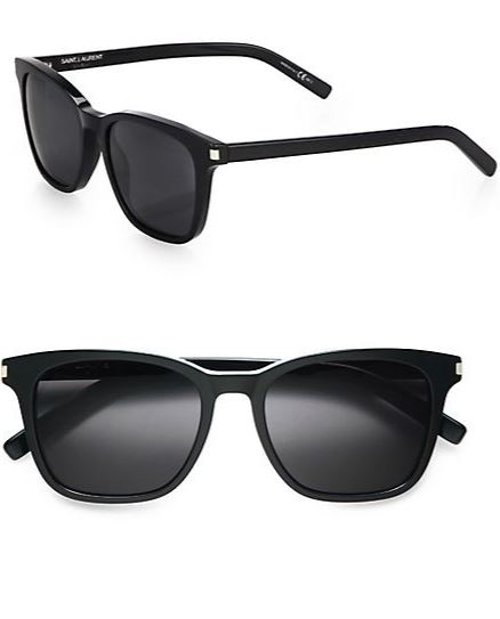 Acetate Wayfarer Sunglasses by Saint Laurent in Get Hard