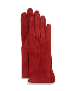 Suede Gloves by Mario Portolano in The Women