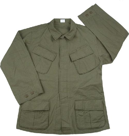 Olive Drab - Military Vintage Vietnam Fatigue Shirt by galaxyarmynavy in X-Men: Days of Future Past