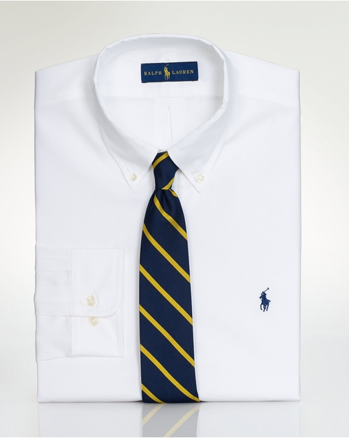 Pinpoint Oxford Dress Shirt by Ralph Lauren in Point Break