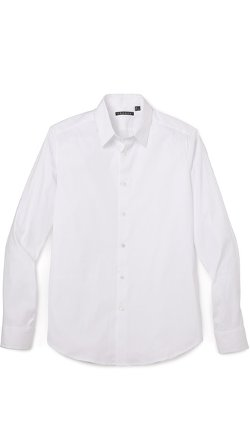 Slyvain Solid Dress Shirt by Theory in Top Five