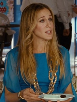 Selected By Patricia Field (Costume Designer) by Vintage Oversized Chain Necklace in Sex and the City