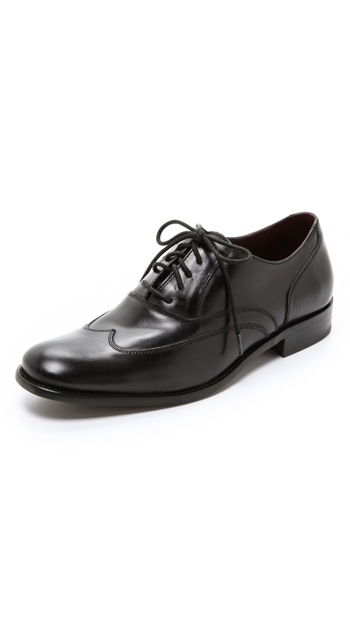 Luxe Classic Wing Tips by John Varvatos Star USA in Anchorman 2: The Legend Continues