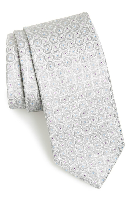 Bucannon Medallion Silk Tie by John W. Nordstrom in The Good Wife - Season 7 Episode 1
