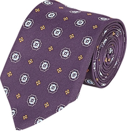 Floral Medallion Jacquard Necktie by Bigi in Brooklyn Nine-Nine