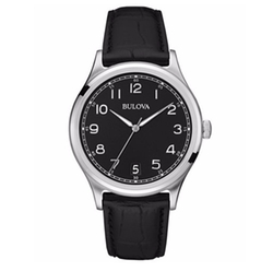 Leather Strap Watch by Bulova in Ballers