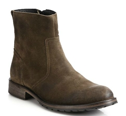 Attwell Suede Ankle Boots by Belstaff in Scandal