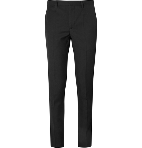 Slim-Fit Wool Trouser Pants by Givenchy in Suits - Season 5 Episode 10
