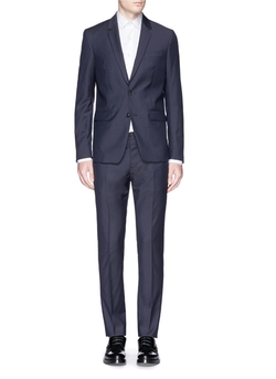 Virgin Fleece Wool Suit by Mauro Grifoni in The Good Wife