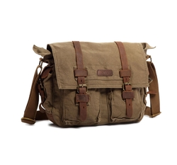 Canvas Shoulder Messenger Bag by Kattee in Kong: Skull Island