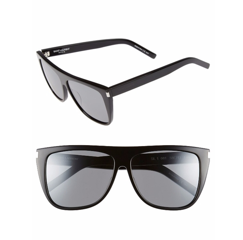 SL 1 Flat Top Sunglasses by Saint Laurent in Keeping Up With The Kardashians - Season 13 Episode 11