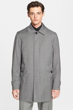 Wool Raincoat by Star USA by John Varvatos in Regression