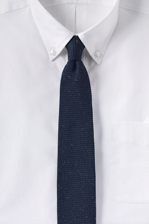 Woven Donegal Grenadine Necktie by Lands End in The Gunman