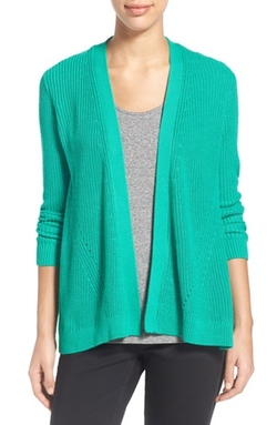 Ribbed Open Front Cardigan by Chaus in X-Men: Apocalypse
