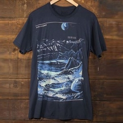 Moon Settlement Tee Shirt by Heavy Rotation in The Big Bang Theory