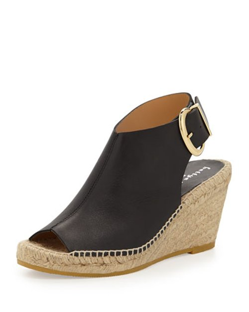 Dresser Leather Wedge by Bettye Muller in Pitch Perfect 2