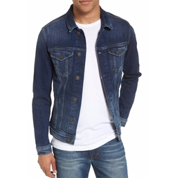 Frank Denim Jacket by Mavi Jeans in Animal Kingdom