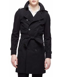 The Wiltshire Long Heritage Trench Coat by Burberry London in Billions