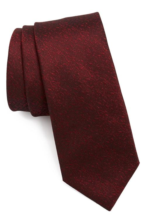 Woven Silk Tie by Yves Saint Laurent Beauty in Yves Saint Laurent