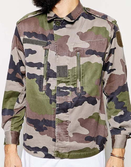 Camo Jacket by Reclaimed Vintage in Me and Earl and the Dying Girl