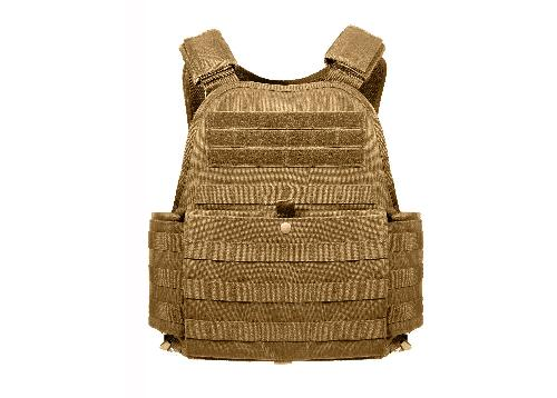 Molle Plate Carrier Vest by Rothco in Sabotage